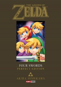 The Legend of Zelda : Four Swords (Perfect Edition) - Volume Único (Item novo e lacrado)