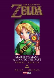 The Legend of Zelda : Majora's Mask / A Link to the Past (Perfect Edition) - Volume Único (Item novo e lacrado)
