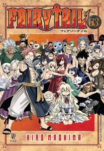 Fairy Tail - Volume 63 (Item novo e lacrado)