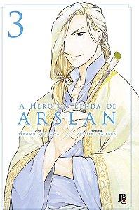 A Heroica Lenda de Arslan - Volume 03 (Item novo e lacrado)
