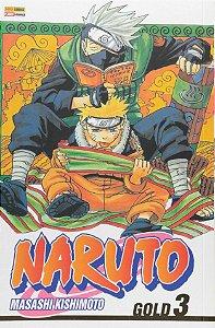 Naruto Gold - Volume 03 (Item novo e lacrado)