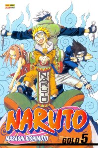Naruto Gold - Volume 05 (Item novo e lacrado)