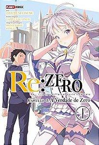 Re:Zero - Capítulo 03 : A Verdade de Zero - Volume 01 (Item novo e lacrado)