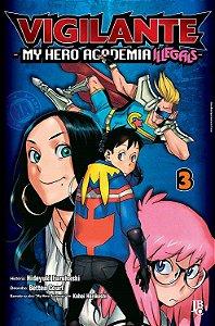 Vigilante : My Hero Academia Illegals - Volume 03 (Item novo e lacrado)
