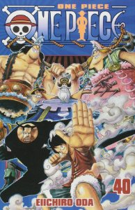 One Piece - Volume 40 (Item novo e lacrado)