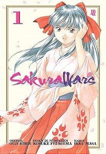 Sakura Wars - Volume 01 (Item novo e lacrado)