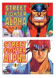 Street Fighter Alpha [Completo] - Volumes 01 e 02 (Item novo e lacrado)