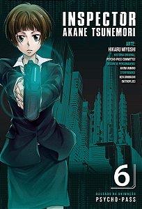 Psycho-Pass. Inspector Akane Tsunemori  - Volume 06 (Item novo e lacrado)