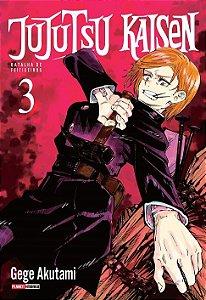 Jujutsu Kaisen : Batalha De Feiticeiros - Volume 03 (Item novo e lacrado)