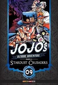Jojo's Bizarre Adventure - Stardust Crusaders (Parte 03) - Vol. 09 (Item novo e lacrado)