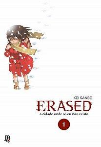 Erased - Volume 01 (Item novo e lacrado)