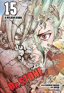 Dr. Stone - Volume 15 (Item novo e lacrado)