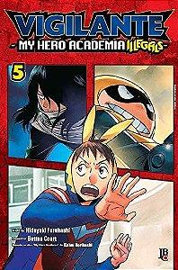 Vigilante : My Hero Academia Illegals - Volume 05 (Item novo e lacrado)
