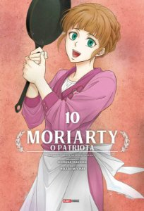 Moriarty : O Patriota - Volume 10 (Item novo e lacrado)