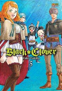 Black Clover - Volume 05 (Item novo e lacrado)