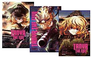 Crônicas de Guerra : Tanya The Evil - Volumes 01, 02 e 03 (Itens novos e lacrados)