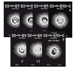 Death Note : Black Edition (Volumes 01 ao 06 + 7 How To Read) - Completo (Item novo e lacrado)