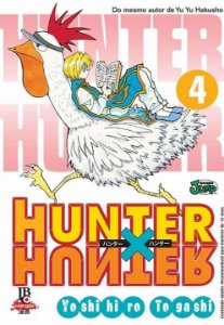 Hunter x Hunter - Volume 04 (Item novo e lacrado)