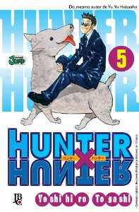 Hunter x Hunter - Volume 05 (Item novo e lacrado)
