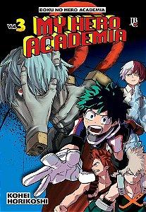 My Hero Academia - Volume 03 (Item novo e lacrado)