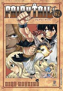 Fairy Tail - Volume 61 (Item novo e lacrado)