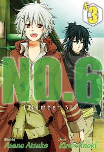 NO.6 [ Number Six ] - Volume 03 (Item novo e lacrado)