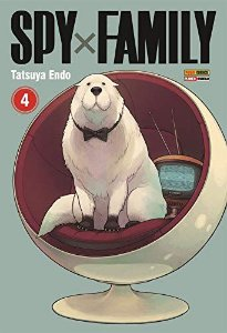 Spy x Family - Volume 04 (Item novo e lacrado)