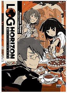 Log Horizon [Domingo em Akiba ] - Livro 05 (Item novo e lacrado)