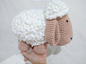 Mini Ovelha Amigurumi - Blog do Bazar Horizonte   225x300