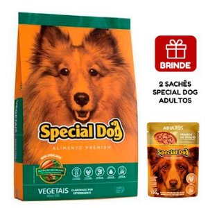 Ração Special Dog Premium Vegetais para Cães Adultos 15 Kg