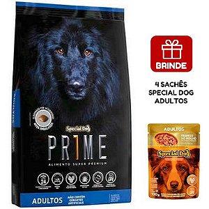 Ração Special Dog Prime para Cães Adultos 15 Kg