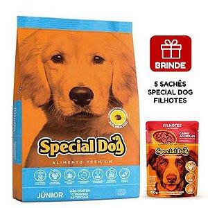 Special Dog Júnior Premium para Cães Filhotes 10,1 Kg