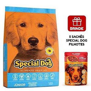 Ração Special Dog Júnior Premium para Cães Filhotes 15 Kg