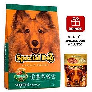 Ração Special Dog Vegetais Premium para Cães Adultos 20 Kg