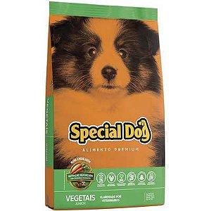 Ração Special Dog Júnior Premium Vegetais para Cães Filhotes 20 Kg