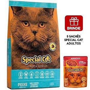 Ração Special Cat Premium Peixe para Gatos Adultos 20 Kg