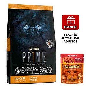 Ração Special Cat Prime Salmão e Arroz para Gatos Filhotes 20 Kg