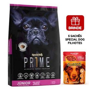Ração Special Dog Prime Júnior para Cães Filhotes de Raças Pequenas 15 Kg