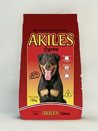Akiles  Adulto Carne 22% 15 Kg