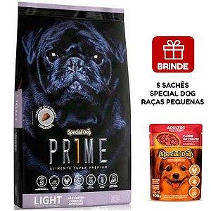 Ração Special Dog Prime Light para Cães Adultos de Raças Pequenas 15 Kg