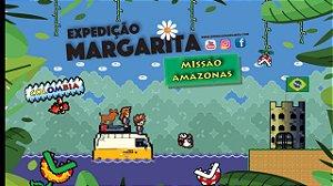 Adesivo Expedição Margarita na Selva