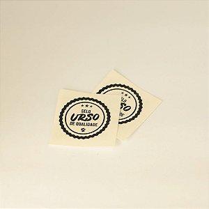 Tatuagem Adesiva - Selo Urso de qualidade