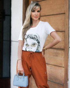 Blusa T-Shirt Fashion