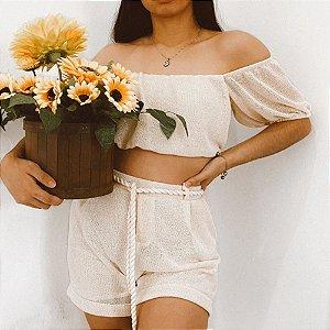 conjunto summer flower