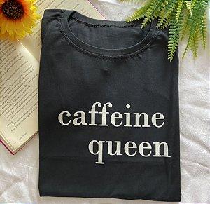 T-shirt Plus caffeine queen