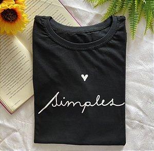 T-shirt Plus simples