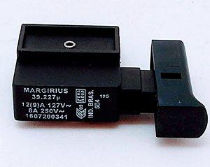 Interruptor 110V/220V Serra Mármore Bosch GDC150 - 1607200341