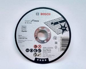 "DISCO CORTE 5"" 125 X 22.2 3MM  INOX EXPERT 2608600549 - BOSCH"