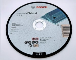 Disco De Corte Para Ferro 7 X 1/8 X 7/8 2608603167 Bosch
