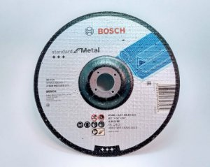 Disco Bosch corte standart Metal - 2608603161